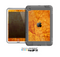 The Orange Cracked & Scratched Surface Skin for the Apple iPad Mini LifeProof Case