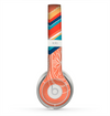 The Orange Dreamcatcher Chevron Skin for the Beats by Dre Solo 2 Headphones