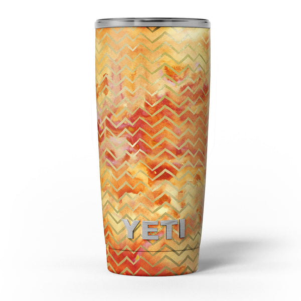 The_Orange_Grungy_Watercolors_with_Chevron_-_Yeti_Rambler_Skin_Kit_-_20oz_-_V5.jpg