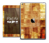 The Orange Layered Textile Skin for the iPad Air