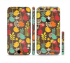 The Orange & Red Cute Vector Birds Sectioned Skin Series for the Apple iPhone 6 Plus