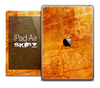 The Orange Rough Surface Skin for the iPad Air
