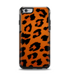 The Orange Vector Animal Print Apple iPhone 6 Otterbox Symmetry Case Skin Set