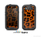 The Orange Vector Animal Print Skin For The Samsung Galaxy S3 LifeProof Case