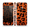 The Orange Vector Animal Print Skin Set for the Apple iPhone 5