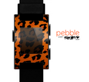 The Orange Vector Animal Print Skin for the Pebble SmartWatch