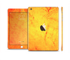 The Orange Vibrant Texture Full Body Skin Set for the Apple iPad Mini 3