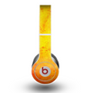 The Orange Vibrant Texture Skin for the Beats by Dre Original Solo-Solo HD Headphones