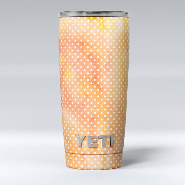 The_Orange_Watercolor_Grunge_Surface_with_Polka_Dots_-_Yeti_Rambler_Skin_Kit_-_20oz_-_V1.jpg