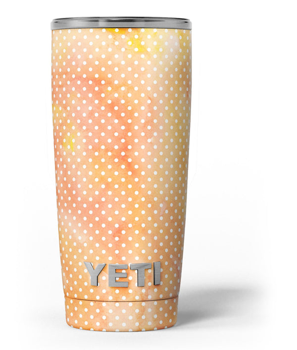 The_Orange_Watercolor_Grunge_Surface_with_Polka_Dots_-_Yeti_Rambler_Skin_Kit_-_20oz_-_V3.jpg