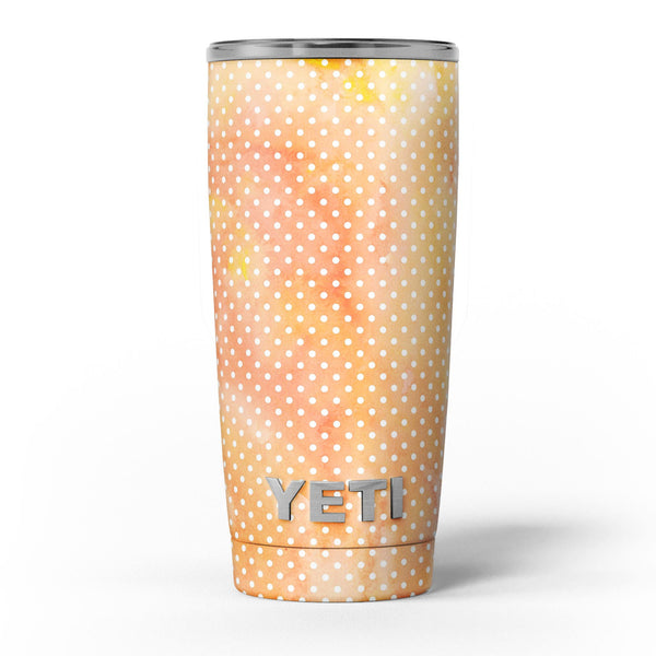 The_Orange_Watercolor_Grunge_Surface_with_Polka_Dots_-_Yeti_Rambler_Skin_Kit_-_20oz_-_V5.jpg