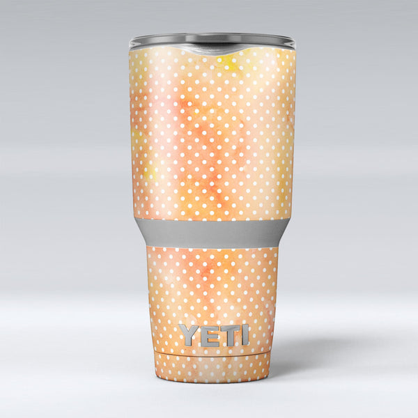 The_Orange_Watercolor_Grunge_Surface_with_Polka_Dots_-_Yeti_Rambler_Skin_Kit_-_30oz_-_V1.jpg
