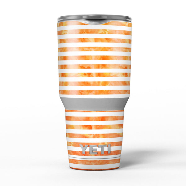 The_Orange_Watercolor_Surface_with_Horizontal_Stripes_-_Yeti_Rambler_Skin_Kit_-_30oz_-_V5.jpg