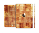 The Oranged Patch Layers Vintage Full Body Skin Set for the Apple iPad Mini 3