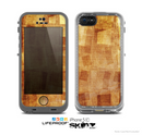 The Oranged Patch Layers Vintage Skin for the Apple iPhone 5c LifeProof Case