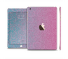 The OverLock Pink to Blue Swirls Full Body Skin Set for the Apple iPad Mini 3