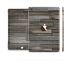 The Overlapping Aged Planks Full Body Skin Set for the Apple iPad Mini 3
