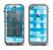 The Overlapping Blue Woven Apple iPhone 5c LifeProof Nuud Case Skin Set