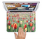 "The Painting of Field of Flowers Skin Set for the Apple MacBook Pro 15"" with Retina Display"