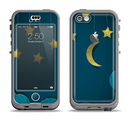 The Paper Stars and Moon Apple iPhone 5c LifeProof Nuud Case Skin Set