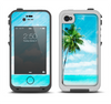 The Paradise Beach Palm Tree Apple iPhone 4-4s LifeProof Fre Case Skin Set