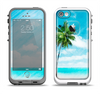 The Paradise Beach Palm Tree Apple iPhone 5-5s LifeProof Fre Case Skin Set