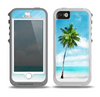 The Paradise Beach Palm Tree Skin for the iPhone 5-5s OtterBox Preserver WaterProof Case