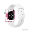 The Paris Pink Illustration Full-Body Skin Kit for the Apple Watch