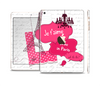 The Paris Pink Illustration Full Body Skin Set for the Apple iPad Mini 3