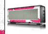The Paris Pink Illustration Skin for the Braven 570 Wireless Bluetooth Speaker