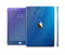 The Pastel Blue Surface Full Body Skin Set for the Apple iPad Mini 3