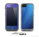 The Pastel Blue Surface Skin for the Apple iPhone 5c LifeProof Case