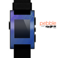 The Pastel Blue Surface Skin for the Pebble SmartWatch