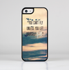 The Pastel Sunset You Cant Fly Unless You Let Yourself Fall Skin-Sert for the Apple iPhone 5c Skin-Sert Case