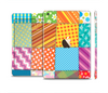 The Patched Various Hot Patterns Full Body Skin Set for the Apple iPad Mini 3