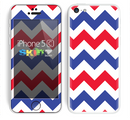 The Patriotic Chevron Pattern Skin for the Apple iPhone 5c