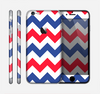 The Patriotic Chevron Pattern Skin for the Apple iPhone 6