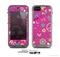 The Peace Love Pink Illustration Skin for the Apple iPhone 5c LifeProof Case