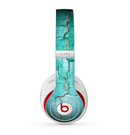 The Peeling Teal Paint Skin for the Beats by Dre Studio (2013+ Version) Headphones