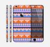 The Pink-Blue & Coral Tribal Ethic Geometric Pattern Skin for the Apple iPhone 6 Plus