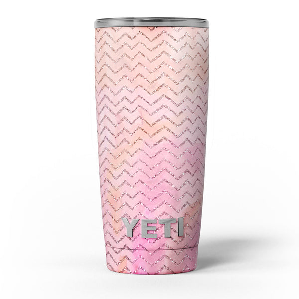 The_Pink_Abstract_Watercolor_Sparkling_Chevron_-_Yeti_Rambler_Skin_Kit_-_20oz_-_V5.jpg