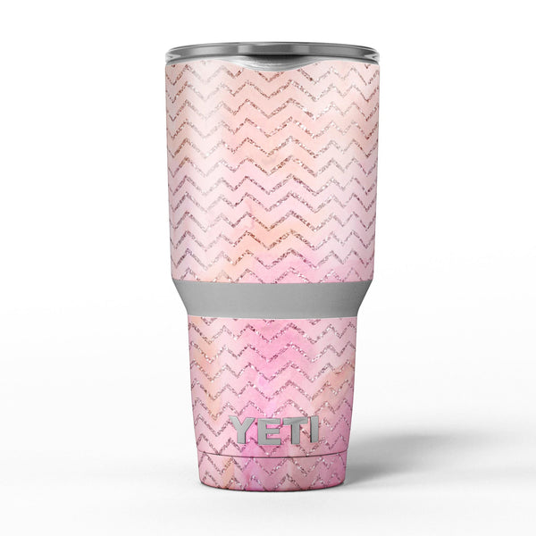 The_Pink_Abstract_Watercolor_Sparkling_Chevron_-_Yeti_Rambler_Skin_Kit_-_30oz_-_V5.jpg