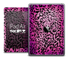 The Pink Animal Print V5 Skin for the iPad Air