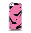 The Pink & Black High-Heel Pattern V12 Apple iPhone 5c Otterbox Symmetry Case Skin Set