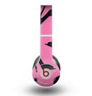 The Pink & Black High-Heel Pattern V12 Skin for the Beats by Dre Original Solo-Solo HD Headphones