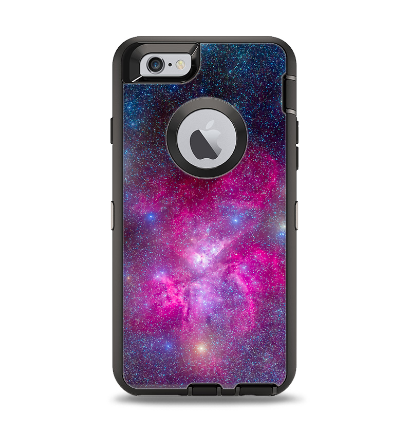 size 40 174c2 96c40 The Pink & Blue Galaxy Apple iPhone 6 Otterbox Defender Case Skin Set