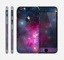 The Pink & Blue Galaxy Skin for the Apple iPhone 6