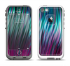 The Pink & Blue Vector Swirly HD Strands Apple iPhone 5-5s LifeProof Fre Case Skin Set