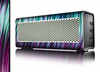 The Pink & Blue Vector Swirly HD Strands Skin for the Braven 570 Wireless Bluetooth Speaker
