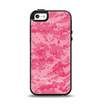 The Pink Digital Camouflage Apple iPhone 5-5s Otterbox Symmetry Case Skin Set